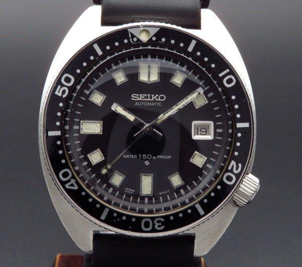 即納品  1968年 セイコー ダイバー セカンドモデル 【Ref.6105-8000】 ヴィンテージ 希少 前期型【OH済】