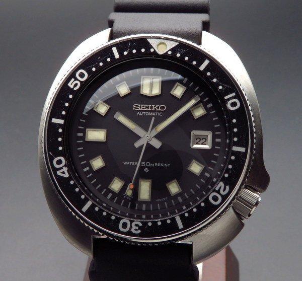 1970年 〜 1979年   1972年 セイコー ダイバー セカンドモデル 【Ref.6105-8110】 ヴィンテージ 後期型 植村モデル【OH済】