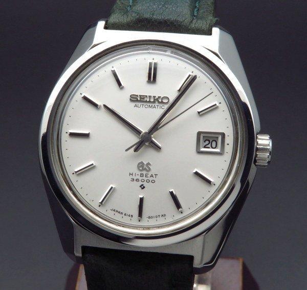 セイコー - Antique Seiko -   1969年 アンティーク グランドセイコー 6145-8000 メダリオン GS61 ヴィンテージ【OH済】