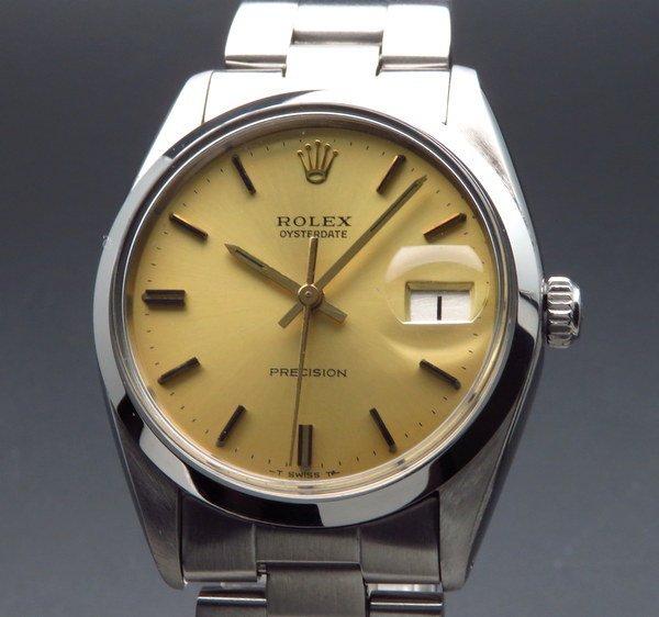 ロレックス - Antique Rolex -    1966年 ロレックス アンティーク ref6694 オイスターデイト 手巻 ヴィンテージ【OH済】