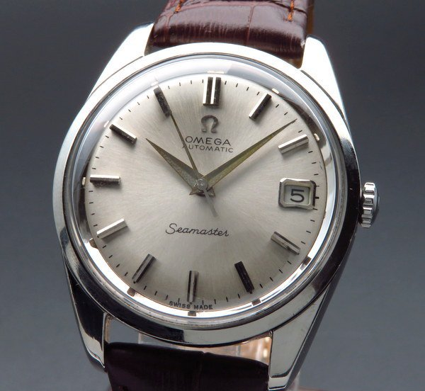 1965年 アンティーク オメガ シーマスター [日付] 自動巻 CAL562 ヴィンテージ【OH済】