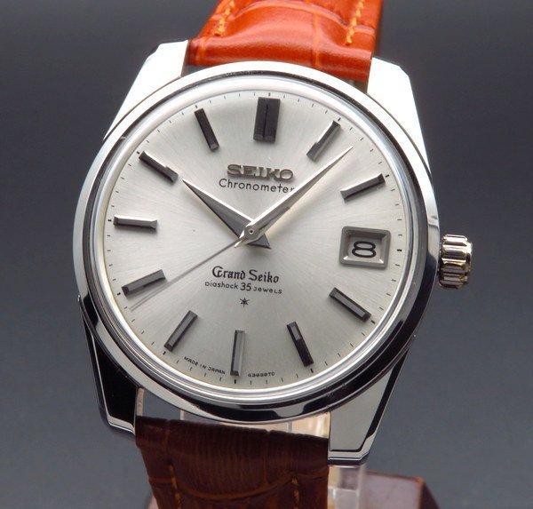 セイコー - Antique Seiko -   1963年製 グランドセイコー 43999 アンティーク 獅子メダル 希少 クロノメーター GS43 ヴィンテージ【OH済】