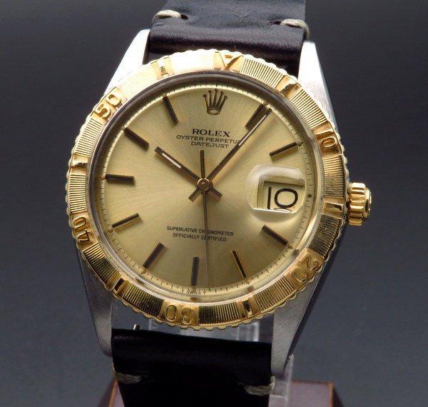 ロレックス - Antique Rolex -   1971年 ロレックス アンティーク ref1625 サンダーバード YG ROLEX 製造中止 ヴィンテージ【OH済】
