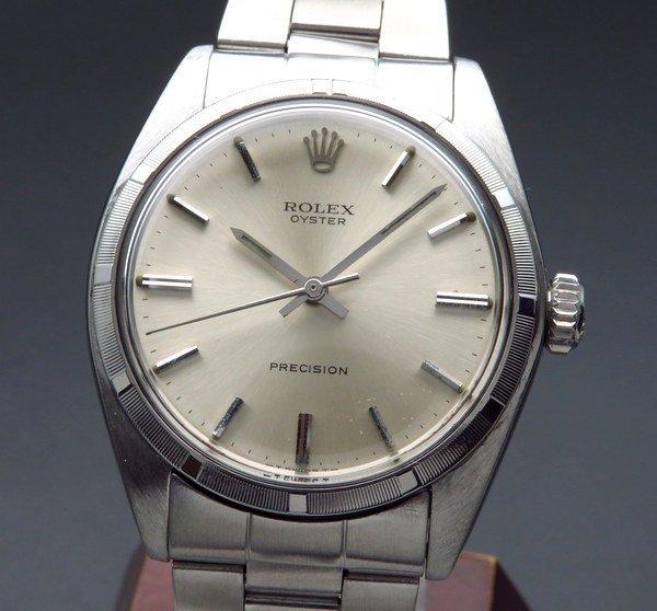 ロレックス - Antique Rolex -   1969年 アンティーク ロレックス オイスター ref6427 エンジンターンド ノンデイト 手巻【OH済】