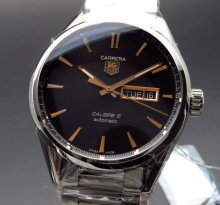 売り切れ タグホイヤー カレラ キャリバー5 デイデイト WAR201C.BA0723 TAGHEUER 腕時計【未使用品】の商品画像