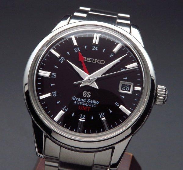 セイコー - Antique Seiko -   完売 グランドセイコー メカニカル GMT SBGM009 9S56-00B0 {時間調整・仕上済}{中古}