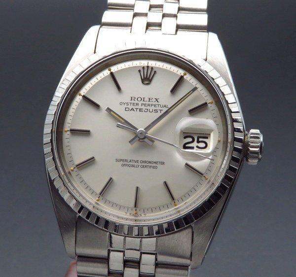 ロレックス - Antique Rolex -    1970年 ロレックス デイトジャスト 1603 アンティーク cal1570 エンジンターンド ヴィンテージ【OH済】