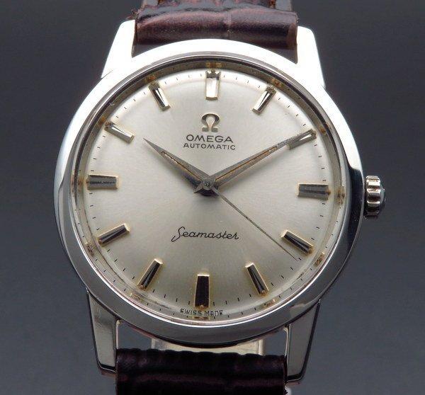 即納品  1962年 アンティーク オメガ シーマスター cal552 ノンデイト ヴィンテージ【OH済】