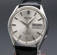 1967年製 希少 レア グランドセイコー 6246-9001 アンティーク GS62 デイデイト 美品【OH済】