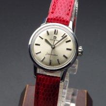 1962年 オメガ アンティーク cal630 シーマスター 手巻き レディ【OH済】
