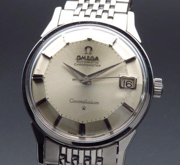 即納品   1962年製 12角 オメガ アンティーク コンステ cal561 自動 オメガブレス ヴィンテージ 【OH済】