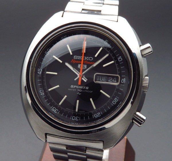 価格別  1970年製 セイコー クロノグラフオートマチック スピードタイマー 7017-6010 ヴィンテージ【OH済】