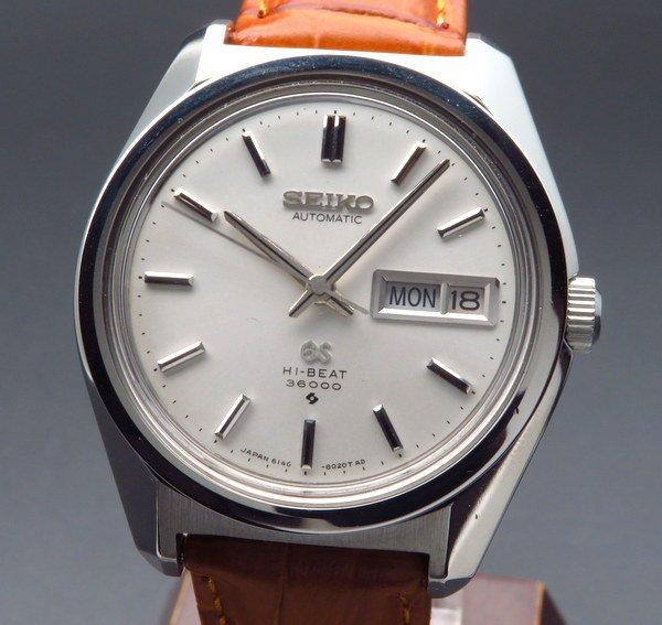 セイコー - Antique Seiko -   完売 1968年 グランドセイコー アンティーク 6146-8000 61GS デイデイト 新品仕上 ヴィンテージ 【OH済】