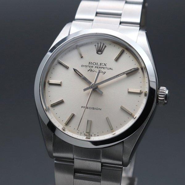ロレックス - Antique Rolex -   1982年アンティーク ロレックス SS エアキング ref5500 自動巻 ヴィンテージ【OH済】