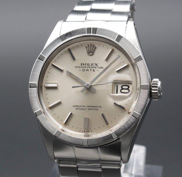 即納品  1968年 ロレックス SS オイスターパーペチュアルデイト ref1501 出べそヴィンテージ 【OH済】