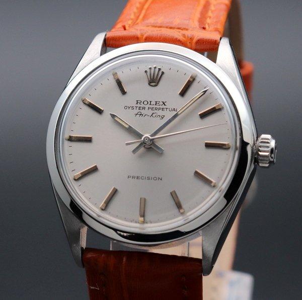 ロレックス - Antique Rolex -   売切れ 1966年アンティーク ロレックス SS エアキング ref5500 自動巻 ヴィンテージ 【OH済】