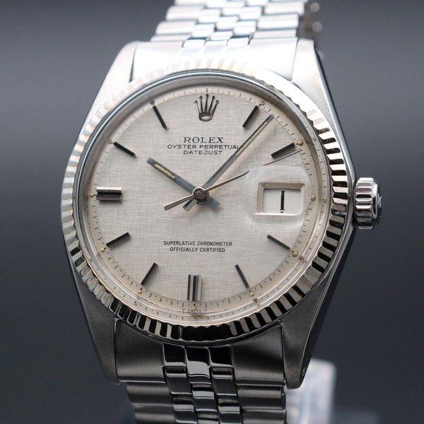 1960年 〜 1969年   1968年 アンティーク ロレックス デイトジャスト ref1601 WGベゼル cal1570 新品仕上【OH済】