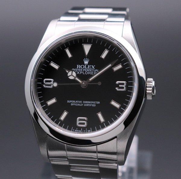 ロレックス - Antique Rolex -   1991年 ROLEX ロレックス エクスプローラー� 14270 X番 中古・美品 新品仕上【OH済】