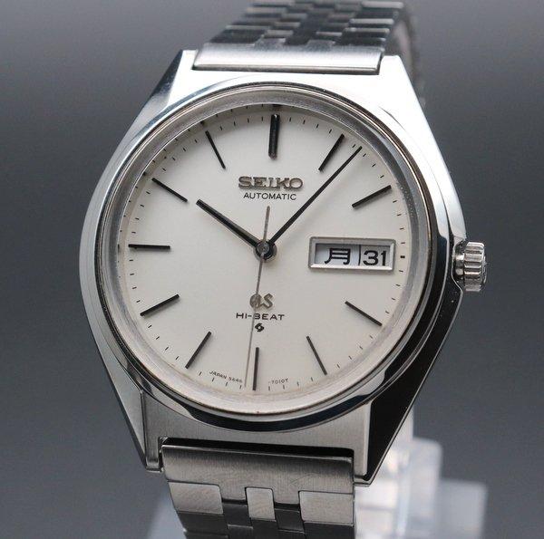 セイコー - Antique Seiko -   完売 1974年製 アンティーク グランド セイコー 5646-7011 56GS ハイビート GSブレス 新品仕上【OH済】