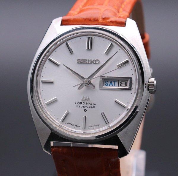 1960年 〜 1969年   アンティーク セイコー ロードマチック 5606-7000 デイデイト 手巻 ヴィンテージ【OH済】