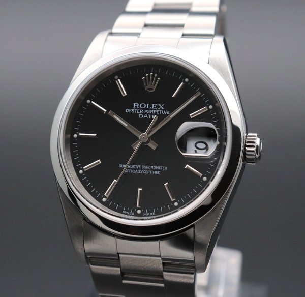 ロレックス - Antique Rolex -   売り切れ  2001年 ロレックス SS オイスターパーペチュアルデイト ref15200【OH済】【中古】