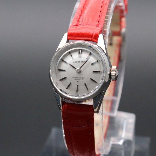 即納品  1968年 アンティーク クィーン セイコー CAL1020C カクテル WGF 手巻 レディース カットガラス【OH済】