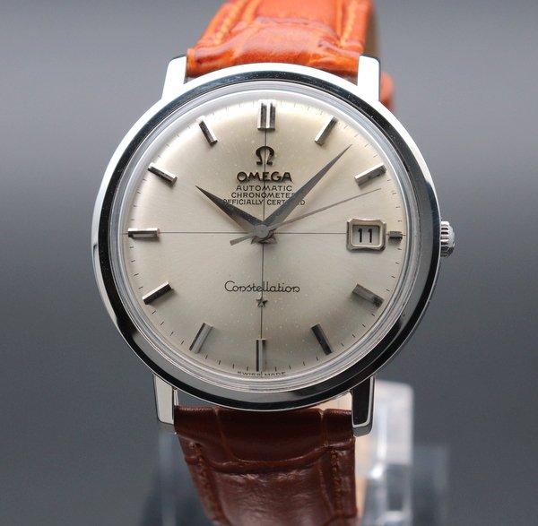 即納品    1964年 アンティーク オメガ cal561 コンステ クロノメーター クロスライン ヴィンテージ【OH済】