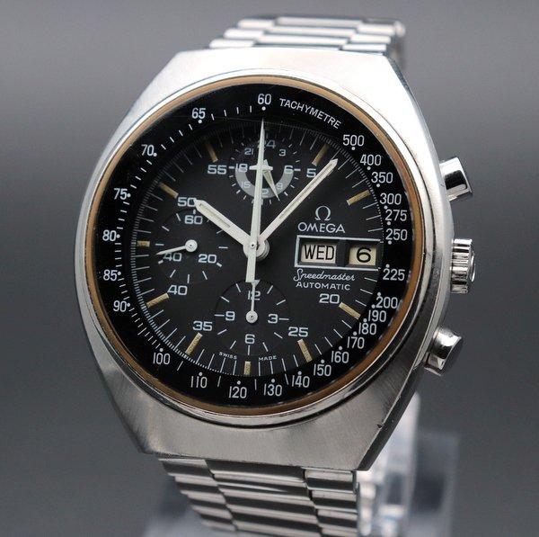 即納品  1975年アンティーク オメガ スピードマスター オートマチック デイデイト Cal.1045 Ref.176.0012 ヴィンテージ【OH済】