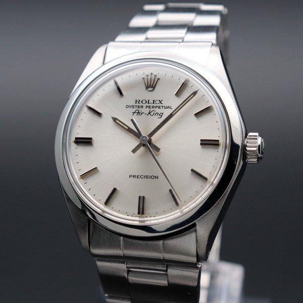 ロレックス - Antique Rolex -   売り切れ 1973年 アンティーク ロレックス SS エアキング ref5500 自動巻 ヴィンテージ【OH済】