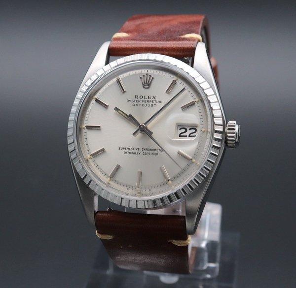 ロレックス - Antique Rolex -   売り切れ 1973年 ロレックス デイトジャスト 1603 アンティーク cal1570 エンジンターンド ヴィンテージ【OH済】