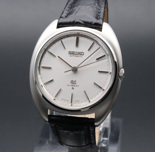 セイコー - Antique Seiko -    売り切れ 1970年製 アンティーク グランド セイコー 5641-7000 GS メダリオン ハイビート ノンデイト GS56【OH済】