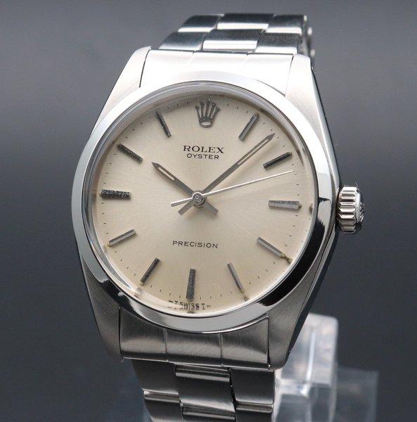 ロレックス - Antique Rolex -   完売 1970年 アンティーク ロレックス オイスター ref6426 プレジション ノンデイト 手巻 ヴィンテージ 【OH済】