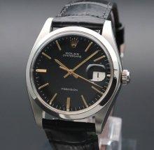 売り切れ 1978年 ロレックス アンティーク ref6694 オイスターデイト 日付 ブラック ヴィンテージ 【OH済】