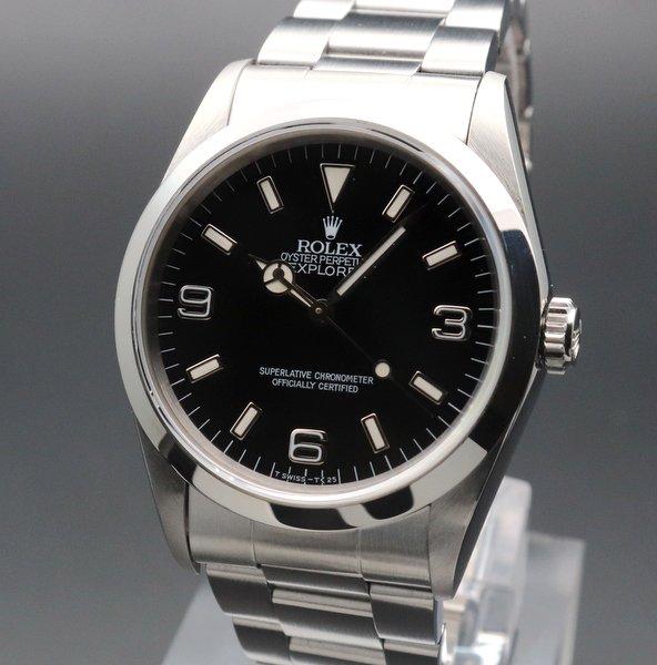 1990年 〜 1999年  【OH済】 1994年 ROLEX ロレックス エクスプローラー� 14270 W番 中古 新品仕上 ヴィンテージ