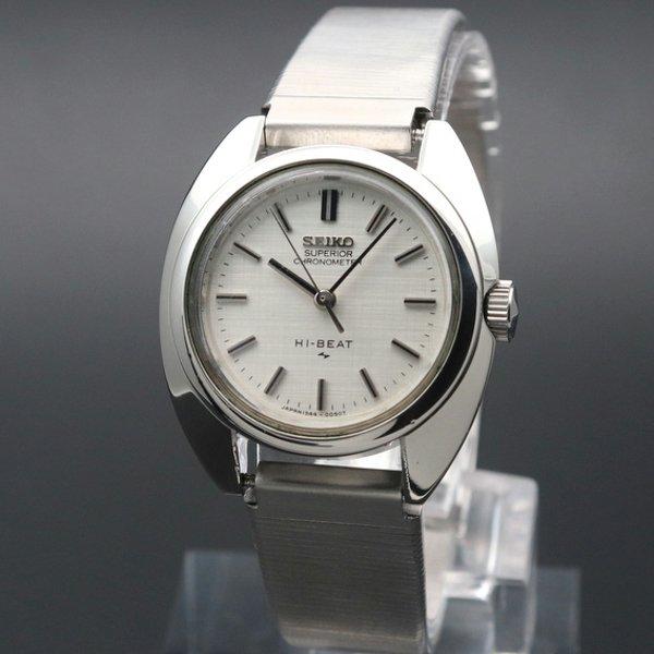 価格別  1970年 セイコー クロノメーター HI-BEAT メダリオン SUPERIOR 手巻き レディース 腕時計 1944-0020 レディース【OH済】