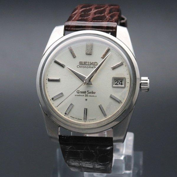1964年 グランドセイコー 43999 アンティーク 獅子メダル 希少 クロノメーター GS43 ヴィンテージ 【OH済】