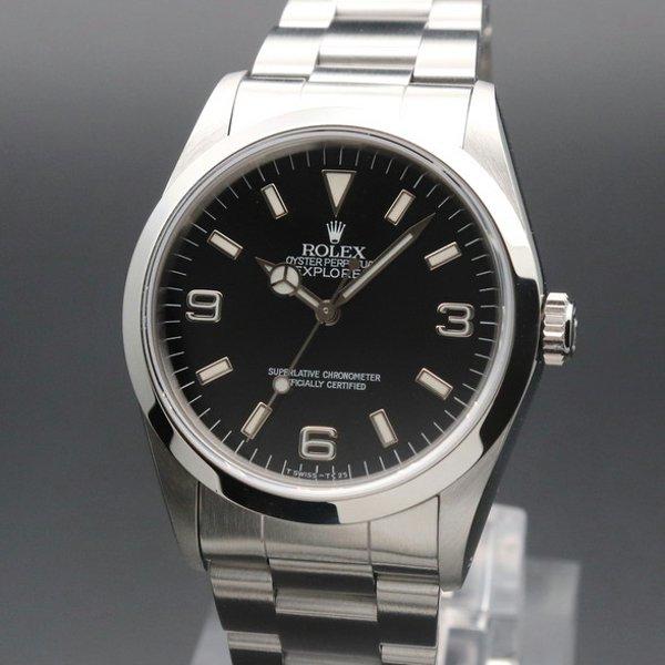 価格別  1991年 ROLEX  ロレックス エクスプローラー� 14270 X番 中古・美品  新品仕上【OH済】
