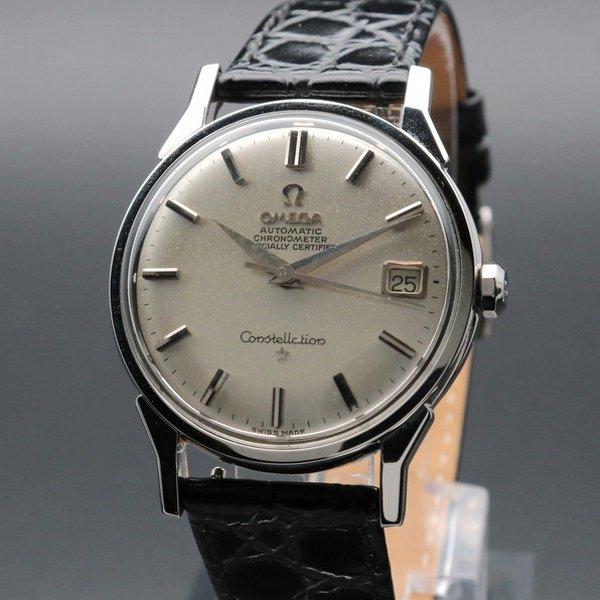 オメガ - Antique Omega -   売り切れ 1962年製 オメガ アンティーク コンステレーション cal561 自動 天文台 ヴィンテージ 【OH済】