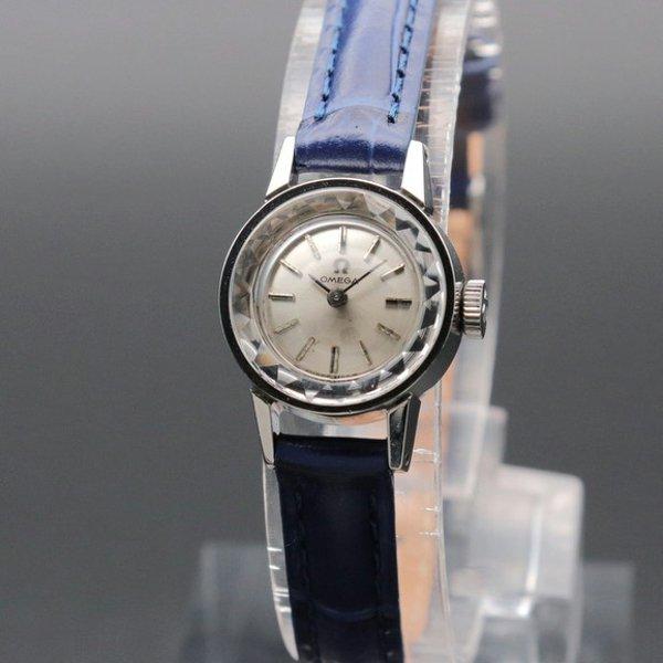 価格別 1964年 アンティーク オメガ カクテル Cal.484 カットガラス 手巻き レディース 【OH済】