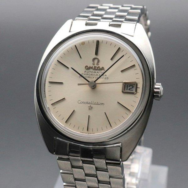 オメガ - Antique Omega -   1967年  オメガ アンティーク コンステレーション Cal.564 クロノメーター Cライン オメガブレス ヴィンテージ【OH済】