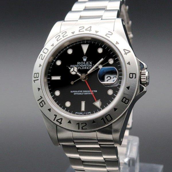 価格別  1994年 ロレックス 16570 エクスプローラー2 ブラック SS トリチウム夜光 新品仕上 ヴィンテージ【OH済】