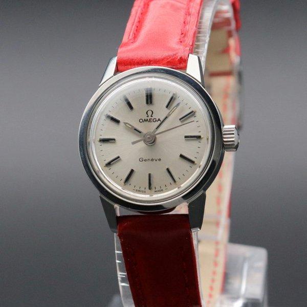 1973年 オメガ アンティーク cal635 ジュネーブ 手巻き レディース【OH済】