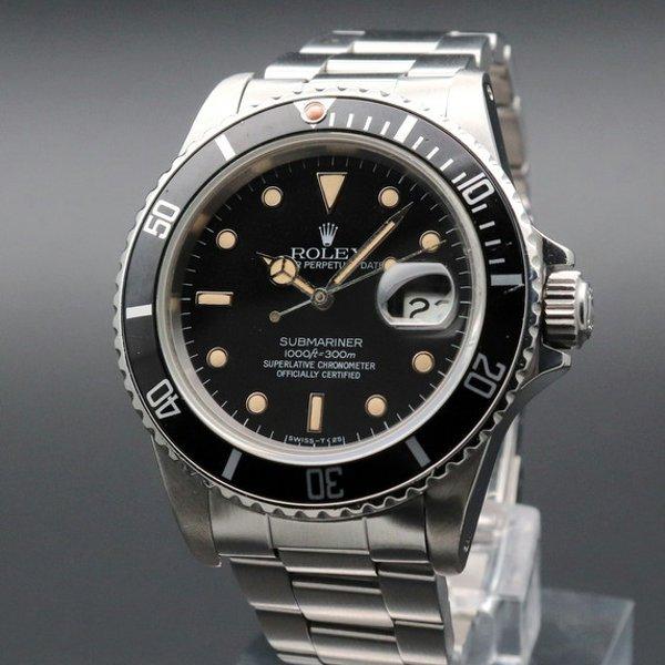 ロレックス - Antique Rolex -   完売 1984年 ロレックス サブマリーナー Ref.16800 トリチウム夜光 ヴィンテージ ギャラ付【OH済】