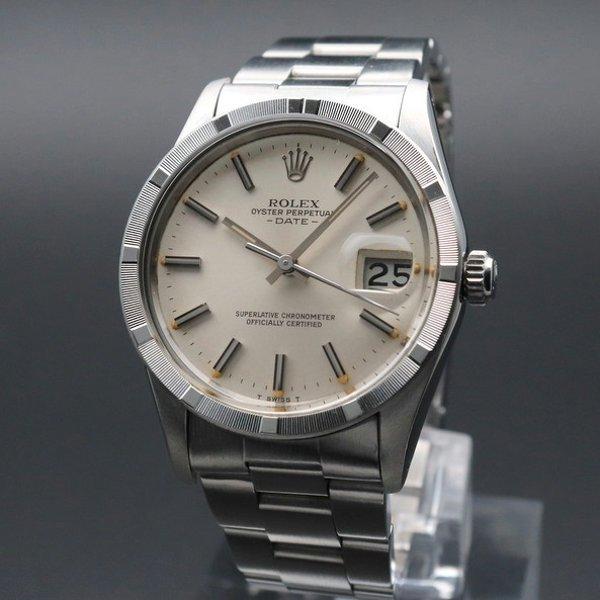 ロレックス - Antique Rolex -   売り切れ 1981年 ロレックス SS オイスター ref15010 エンジンターンド クロノメーター ヴィンテージ【OH済】