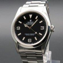 完売 1996年 ROLEX ロレックス エクスプローラー� 14270 T番 トリチウム ヴィンテージ【OH済】の商品画像