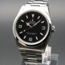 1996年 ROLEX ロレックス エクスプローラー� 14270 T番 トリチウム ダブルロックブレス ヴィンテージ【OH済】の商品画像