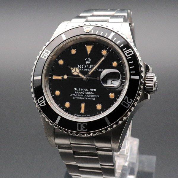 ロレックス - Antique Rolex -   売り切れ 1986年 ロレックス サブマリーナー Ref.16800  トリチウム夜光 ダブルロックブレス ヴィンテージ【OH済】