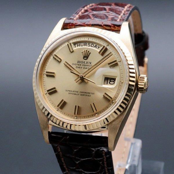 ロレックス - Antique Rolex -   売り切れ 1967年 K18金無垢 アンティーク ロレックス デイデイト ref1803  cal1556  新品仕上【OH済】