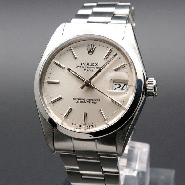 ロレックス - Antique Rolex -   完売 1967年 アンティーク ロレックス SS オイスターパーペチュアル デイト ref1500 【ヴィンテージ】【OH済】