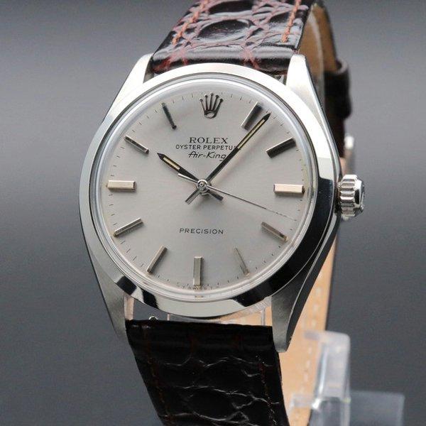 ロレックス - Antique Rolex -   1972年 アンティーク ロレックス SS エアキング ref5500 自動巻 ヴィンテージ【OH済】